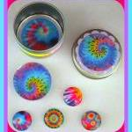 Magnets - Tie Dye Set 1 - M..