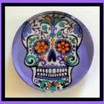 Sugar Skull Magnet - 2-inch..