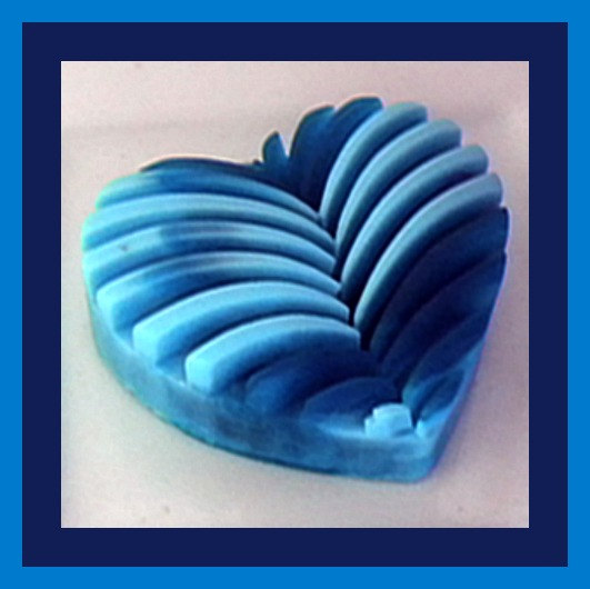 Soap - Tie Dye Heart - Choose Your Colors and Scent