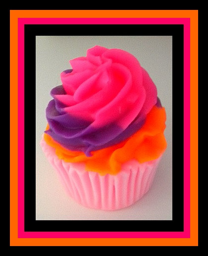 Cupcake Soap - You Choose Scent