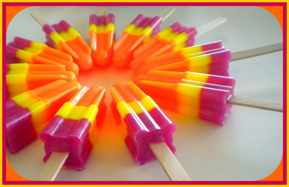 mango papaya soap popsicle party favors soapsicle pomegranate mango ...