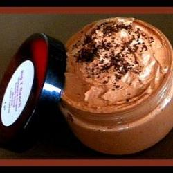 Whipped Soap - Sugar Scrub Soap in a Jar - Mocha Latte Coffee - 4 oz