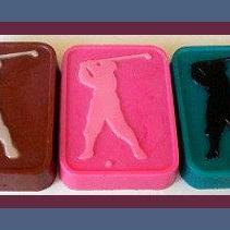 Soap - Golfer - Made with Goat's Milk - You Choose Scent and Colors