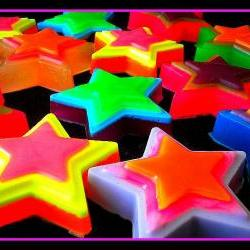 Soap - Cosmos Star Soap - Weddings, Receptions, Party Favors-You Choose Colors and Scents