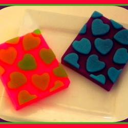 Soap - Hearts - Valentine's Day - You Choose Colors/Scent