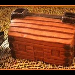 Soap - Log Cabin Soap - 3D - choose your scent