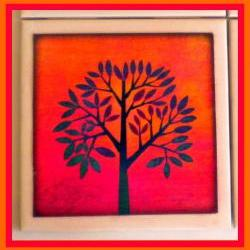 Coaster - Ceramic Tile - Tree