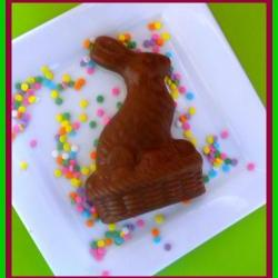 Soap - Chocolate Easter Bunny - NEW- Goat Milk Soap - Set of 2