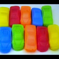 Soap - Mini Race Cars - 10 Soaps - Party Favors, Birthdays - You Choose Scent