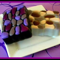 Soap - Cobblestone Goat Milk Soap - You Choose Colors and Scent