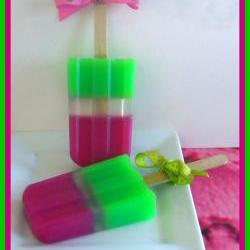Soapsicle - Watermelon Green Apple - Soap Popsicle - Party Favors